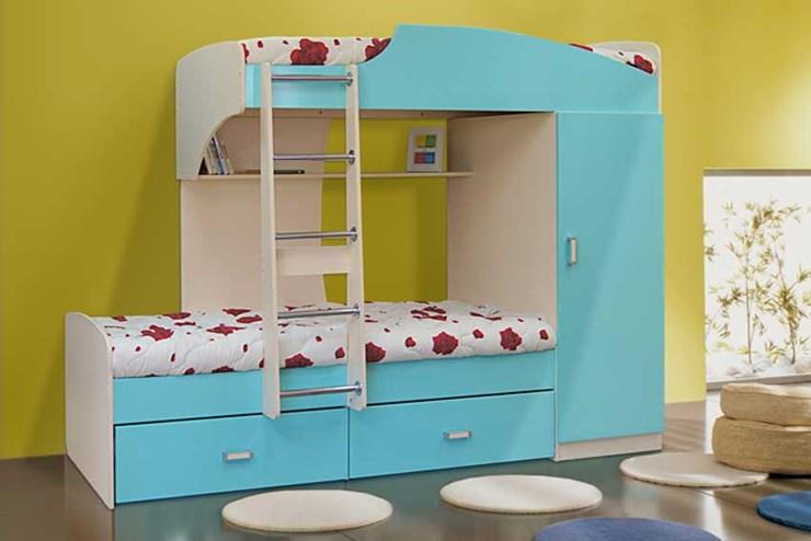 Матрас в стоимость кровати не входит и приобретается отдельно особенности: кровать двухъярусная адель-3 олмеко размер: нижний ярус является диваном, который можно раскладывать.